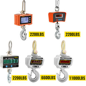 Digital Crane Scales Hanging Scale 2200 Lbs 6600 Lbs 11000 Lbs Electronic Scales