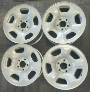 15 Jeep Liberty Factory Oem Steel Wheels Rims 16x7 2002 2007