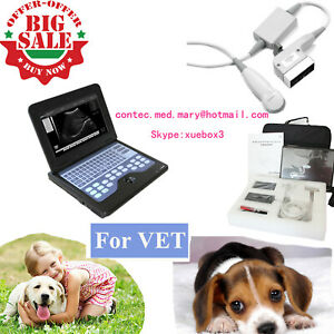 Vet Veterinary Laptop Ultrasound Scanner Machine Micro Convex For Dog cat animal