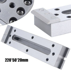 Stainless Cnc Wire Edm Jig Holder Fixture Board Clamping Leveling 220x50x20 Mm