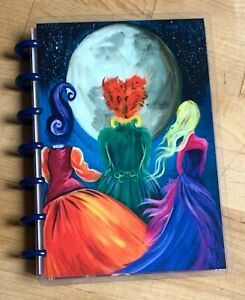 Hocus Pocus Sisters Moonlight Cover Set For Use With The Mini Happy Planner