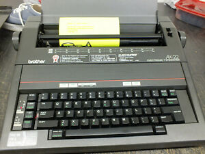 Brother Ax 22 Electric Typewriter Excellent Condition Tested Extra Ribbon Manual