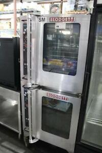 Used Blodgett Electric Hydrovection Double Half Size Oven