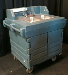 Cambro Ksc402 Portable Hand Sink Cart