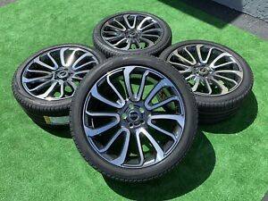 22 Inch Range Rover Supercharge Hse Wheels Tires Rims Pirelli Factory Tires