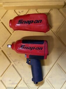 Snap on Tools Super Duty Air Impact Wrench Mg725 1 2 Drive W Boot