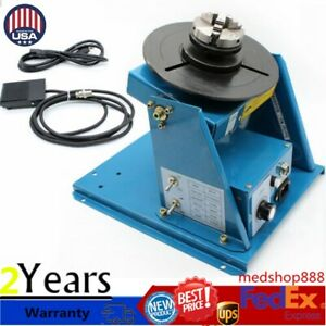 2 5 Welder Table Rotary Welding Positioner Turntable Table 3 Jaw Lathe Chuck Us