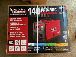 Brand New Lincoln Electric 140 Pro Mig Flux Corded Wire Feed Welder K2480 1