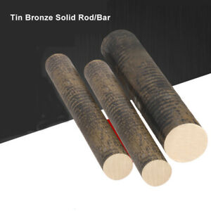 Tin Bronze Solid Round Rod Bar Stick 10 25mm length 300mm Craft Metalworking