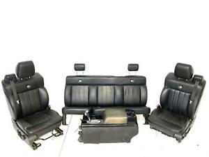 Seats Front Rear Console Fits 04 08 Ford F150 Harley Davidson Super Cab 1257