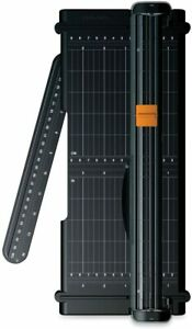 Fiskars Surecut Portable Trimmer With Recycled Cutline 12 Inch Cut Black