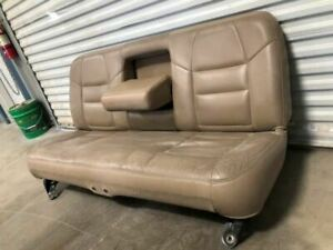 Used 02 Ford F250 Crew Cab Lariat 8h Tan Leather Rear Seat Shipped 28479