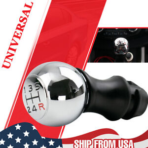 Universal Automatic Manual Car Gear Stick Shift Knob Lever Shifter With Adapter Fits Honda