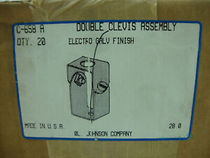 Double Clevis Hanger For 1 5 8 Channel Electro Galvanized