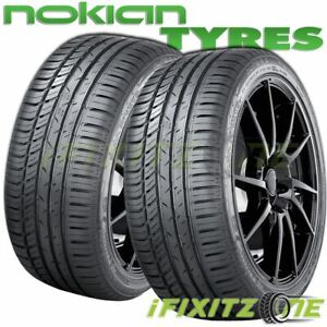 2 Nokian Zline A S 255 35r18 94w Xl All Season Traction High Performance Tires