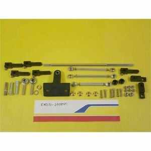 Enderle 72 2000sm Throttle Linkage Kit Sbc Sheet Metal Tunnel Ram Manifold