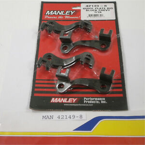 Manley 42149 8 Push Rod Guide Plates For Big Block Chevy With 7 16 Pushrods