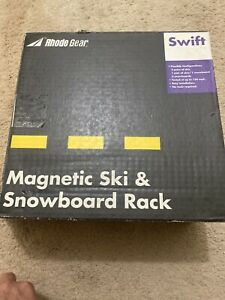 Rhode Gear Magnetic Ski Snowboard Rack 2 Pairs Of Skis Or 2 Snowboards