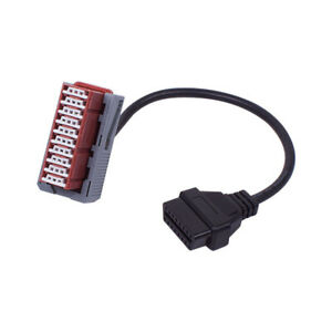 30pin To 16pin Diagnostic Connector Cable Fit For Citroen Pp2000 Lexia 3 30 Pin
