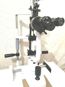 Ophthalmology Free Shipping 2 Step Slit Lamp Haag Streit Type With Accessories