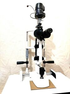 Ophthalmology 2 Step Slit Lamp Haag Streit Type And Accessories Free Shipping