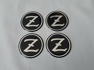 Set Of 4 Nos Vintage Nissan datsun Z Center Cap Decals Stickers 38mm