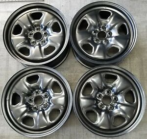 18 Chevy Camaro Factory Oem Steel Wheels Rims 18x7 1 2 2010 2013