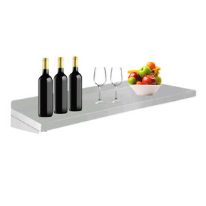 Stainless Steel Wall mounted Rack Serving Food Plate shelf Hanger Kitchen Tool