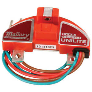 Mallory 605 Electronic Ignition Module Unilite Mallory Distributors