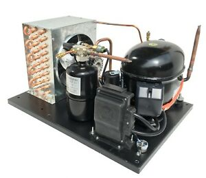 New Outdoor Condensing Unit 3 4 Hp High Temp R404a 220v embraco Nt6217gkv2