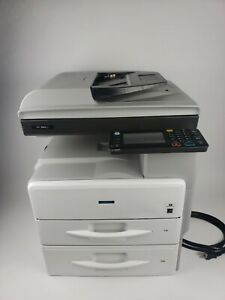 Richo Savin Mp 301spf Copier scanner facsimile Printer With Extra Paper Tray