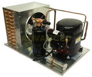 Indoor Qt Ae2413y aa1b Condensing Unit 1 3 Hp Low Temp R134a 115v usa