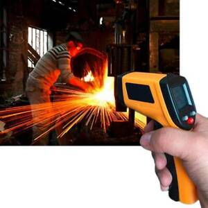 Non contact Ir Infrared Laser Digital Temperature Gun Thermometer Measuring Heat