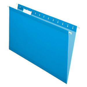 Office Depot Brand Legal Size Hanging Folders Blue 25 pack