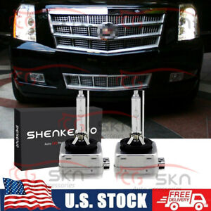 Stock Fit Hid Headlight Bulbs For Cadillac Escalade 2003 2006 Low Beam Set Of 2