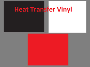 36 Pcs Heat Transfer Vinyl 12 X 10 Sheets T shirt Htv Bundle Red Black White