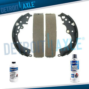 Rear Ceramic Brake Shoes For 2005 2006 2007 2008 2009 2010 2019 Toyota Tacoma