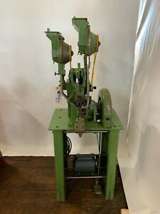 Stocko Pedal Operated Auto Feed Snap Rivet Machine