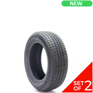 Set Of 2 New 225 60r17 Michelin X Ice Xi3 99h 10 32