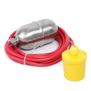 Water Level Float Switch Mercury Switch 4m Line Stainless Steel 1kw
