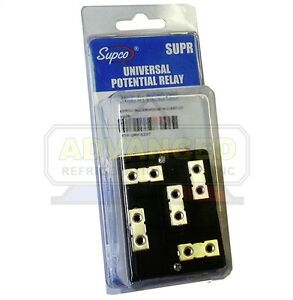 Supco Supr Universal Potential Relay Safety Time Out 1 1 5 Sec