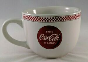 Gibson Coca-Cola Mug Large Coffee Cup Wide Mouth Drink Coca-Cola In Bottles