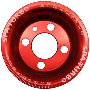 Vw Syncro Audi 80 90 100 4000 Rabbit 1 8 8v Underdrive Pulley Red