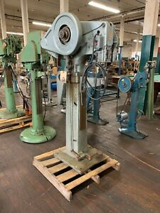 Chicago Rivet Machine Co Pedal Operated Auto Feed Rivet Machine