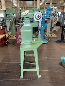 C C Button Trimming Co Inc Pedal Operated Auto Feed Rivet Machine