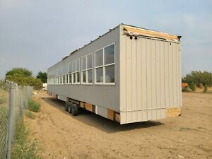 2018 Used Mobile Office Trailer 10 60
