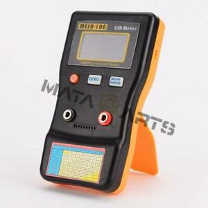 Autoranging In Circuit Esr Capacitor Meter Tester Up To 0 001 To 100r Mesr100 V2