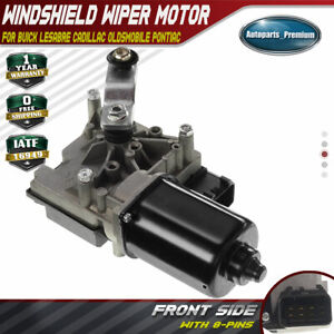 Front Windshield Wiper Motor For Buick Lesabre Cadillac Oldsmobile Pontiac 00 05