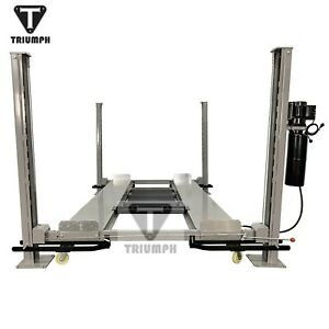 Four Post Auto Lift 8 000 Lb Capacity Car Vehicle Lift Storage Garage New Hoist