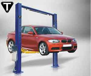 Two Post Auto Lift 9 000 Lb Capacity Car Vehicle Lift Overhead Style New Hoist